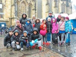 Interkulturelle Reise durch Münster, Internationale Willkommensklasse der Matthias-Claudius-Schule in MS-Handorf